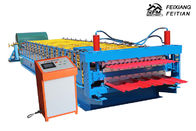 Corrugated Roofing Sheets Making Machines , Metal Sheet Roof Roll Forming Machine