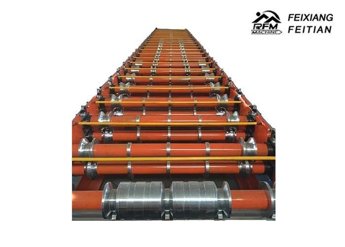 Trapezoidal Type Color Steel Roll Forming Machine Delta Siemens Control